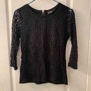 Tops - 3/4 Sleeve Lace Top
